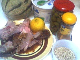 Ingrédients pour la recette : Salade de melon aux graines de sésame