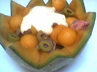 Salade de melon aux graines de sésame - 7.3