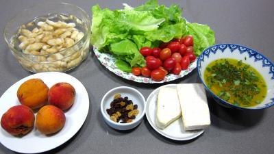 Ingrédients pour la recette : Topinambours en salade