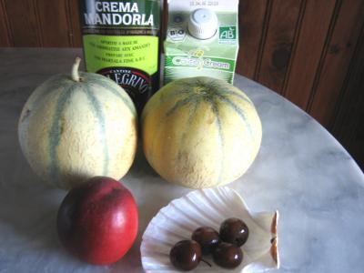 Ingrédients pour la recette : Cocktail de melon au Marsala