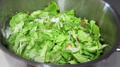 Conserve de ragoût de blettes et d'oseille au basilic - 7.3