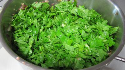 Conserve de ragoût de blettes et d'oseille au basilic - 8.3