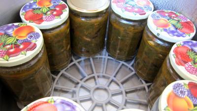Conserve de ragoût de blettes et d'oseille au basilic - 10.1