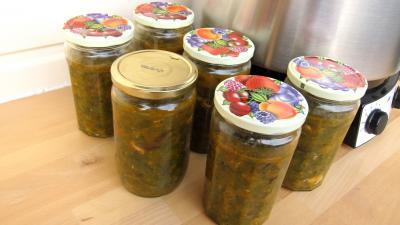 Conserve de ragoût de blettes et d'oseille au basilic - 11.3