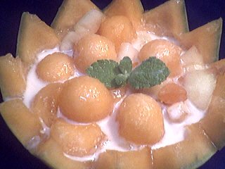 Image : recette Melons en blanquette