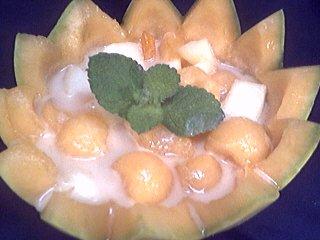 Melons en blanquette - 8.2