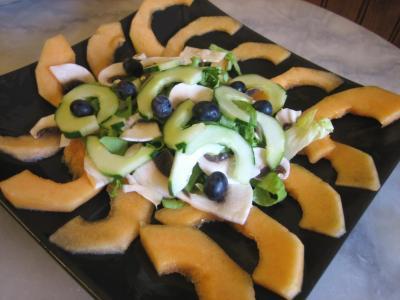 Salade de melon aux graines de tournesol - 6.2