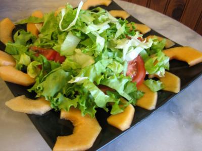 Salade de melon aux graines de tournesol - 7.1