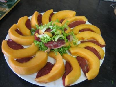 Melon et ses jambons - 4.1