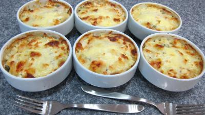 Image : recette Chou gratiné à la béchamel