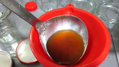 Recette Gelée de pommes à la rhubarbe