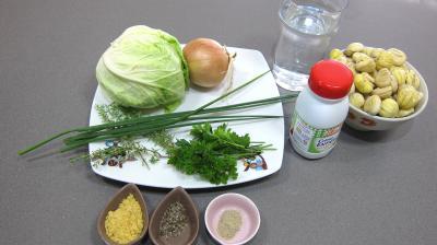 Ingrédients pour la recette : Crème de châtaignes
