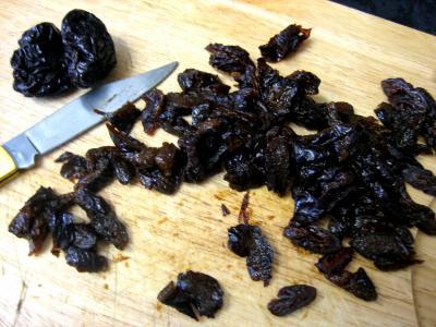 Magret au caramel et aux amandes et sa polenta aux pruneaux - 5.4
