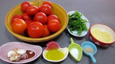 Ingrédients pour la recette : Tomates à la Provençale
