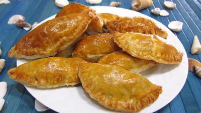 Image : Assiette d'empanadas au jambon