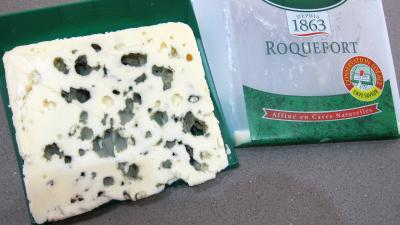 Photo : Morceau de roquefort