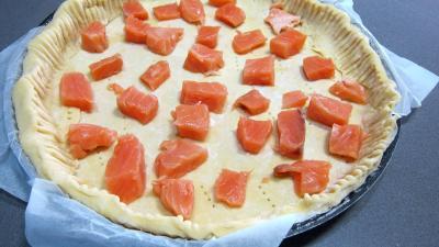 Recette Quiche au saumon