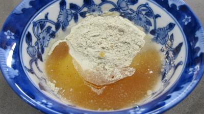 Levain sans gluten à la farine de sarrasin - 1.1