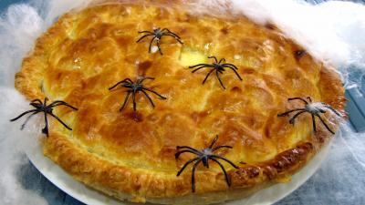 Image : Poirat du Berry et sa crème poivrée avec ces araignées
