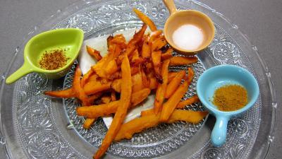 Frites de potimarron et son boudin - 2.2