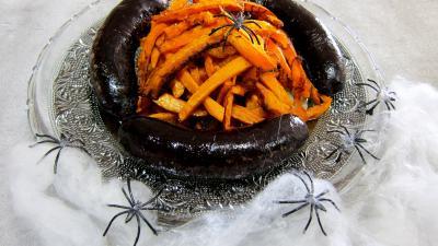 Frites de potimarron et son boudin - 4.1