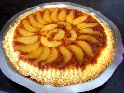 Gâteau aux poires et sa crème au Grand Marnier - 10.1
