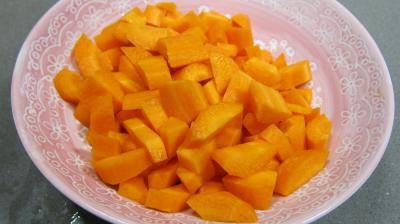 Epinards, carottes, poireau en velouté - 4.3