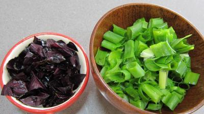 Aubergines en salade au sésame - 2.1