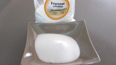 Photo : Ramequin de sucre fructose