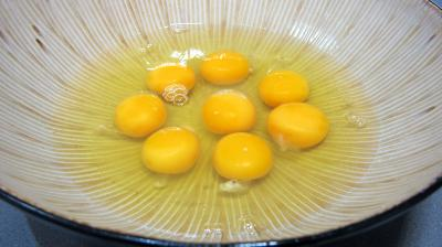 Omelette au chèvre et pissenlits - 5.1