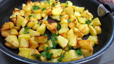 Lotte et pommes de terre sautées - 6.1