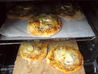 Mini-pizzas à la tomate et au chèvre - 10.2