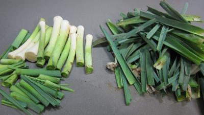 Turbot vapeur et poireaux au chorizo - 2.4