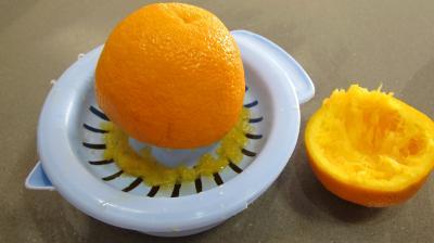 Mousse de gambas à la gelée d'orange - 4.2