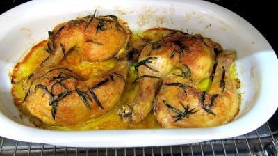 Cuisses de poulet à l'estragon - 8.1