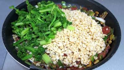 Blé aux brocolis et aux pistaches - 4.3