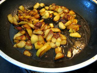 Lotte aux épinards et aux poires confites - 4.3