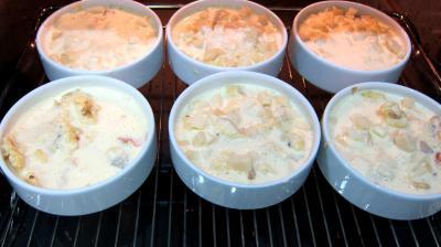 Polenta aux fromages de chèvre - 7.4