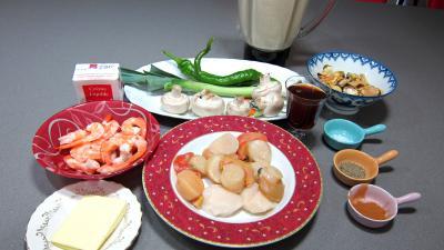 Ingrédients pour la recette : Crêpes océanes