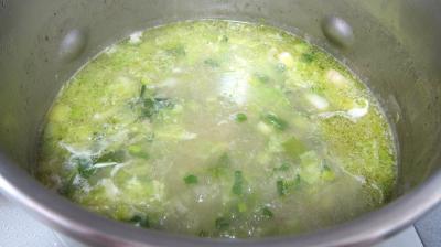 Recette Soupe de riz aux gambas et ognasses