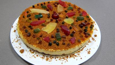 Gâteau fromage blanc aux spéculoos et ses fruits confits - 8.1