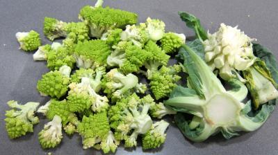 Coeurs de canard, légumes et sauce béchamel au vin rouge - 1.1