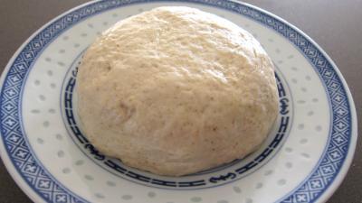 Cuisine chinoise : Assiette de pâte chinoise à la farine de froment