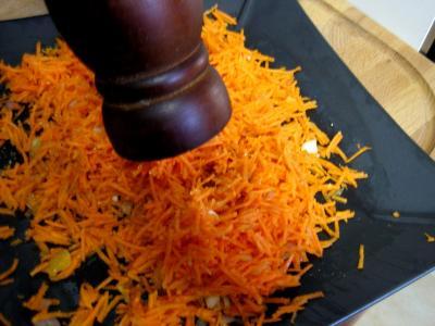 Carottes à la mandarine et aux raisins - 8.4