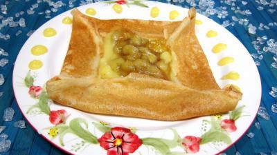 Crêpes à la sauce citron et aux bananes - 7.3