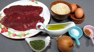 Ingrédients pour la recette : Croquettes de boeuf