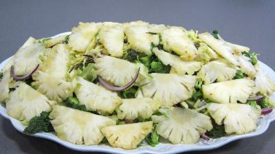 Recette Chou en salade