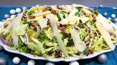 Entrées froides : Plat de chou en salade