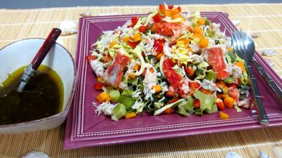 Recette Plat de poireaux en salade