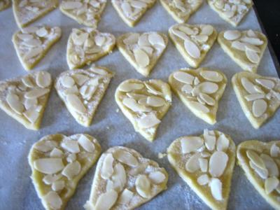 Coeurs sablés aux amandes - 6.2